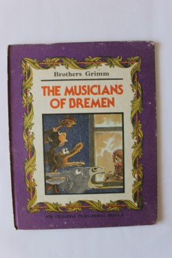 Poze Brothers Grimm - The musicians of Bremen (editie in limba engleza, hardcover)