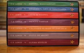 C. S. Lewis - Cronicile din Narnia (editie completa, 7 vol., in caseta speciala)