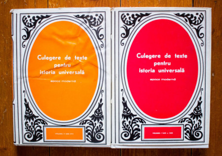Camil Muresan (coord.) - Culegere de texte pentru istoria universala (epoca moderna) (2 vol., editie hardcover)