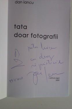 Dan Iancu - Tata. Doar fotografii (cu autograf)