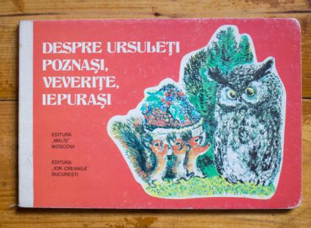 E. Cearusin - Despre ursuleti poznasi, veverite, iepurasi (editie hardcover)