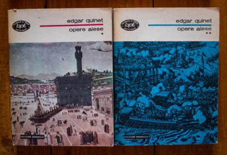 Edgar Quinet - Opere alese (2 vol.)