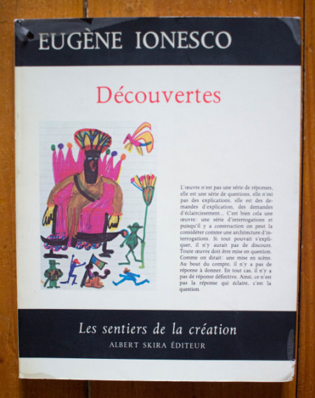 Eugene Ionesco - Decouvertes