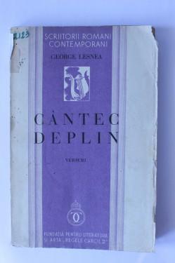George Lesnea - Cantec deplin (editie interbelica)