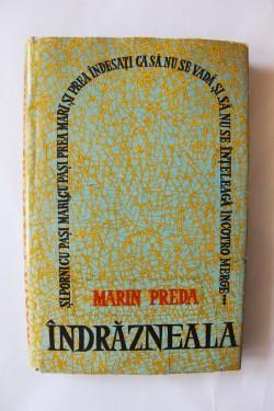 Marin Preda - Indrazneala (editie princeps, hardcover)