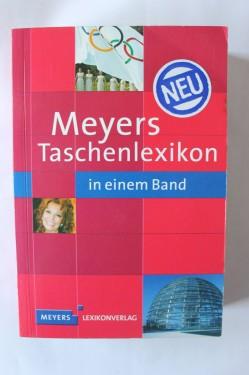 Meyers Taschenlexikon in einem Band