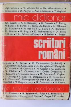 Mircea Zaciu, M. Papahagi, A. Sasu (coord.) - Mic dictionar de scriitori romani (editie hardcover)