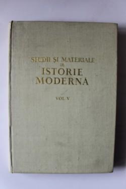 N. Adaniloaie, Dan Berindei - Studii si materiale de istorie moderna (vol. V, editie hardcover)