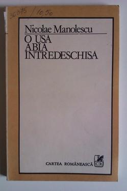 Nicolae Manolescu - O usa abia intredeschisa. Teme 6