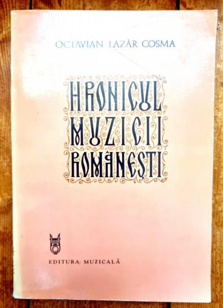 Octavian Lazar Cosma - Hronicul muzicii romanesti V. Epoca enesciana. Viata muzicala (1898-1920)