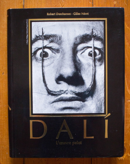 Robert Descharnes, Gilles Neret - Salvador Dali. L`oeuvre peint (Premiere partie, 1904-1946. Deuxieme partie, 1946-1989) (editie hardcover)