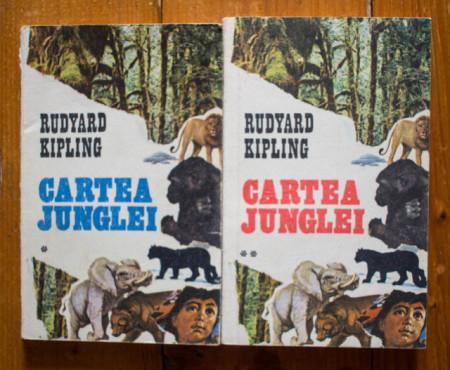 Rudyard Kipling - Cartea junglei. A doua carte a junglei (2 vol.)