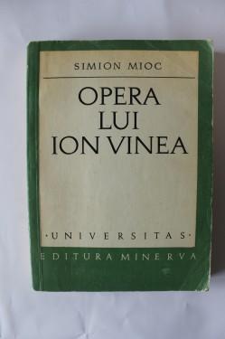 Simion Mioc - Opera lui Ion Vinea