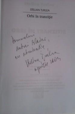 Stelian Turlea - Orbi in tranzitie (cu autograf)
