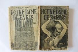 Victor Hugo - Notre-Dame de Paris (2 vol., editie interbelica)