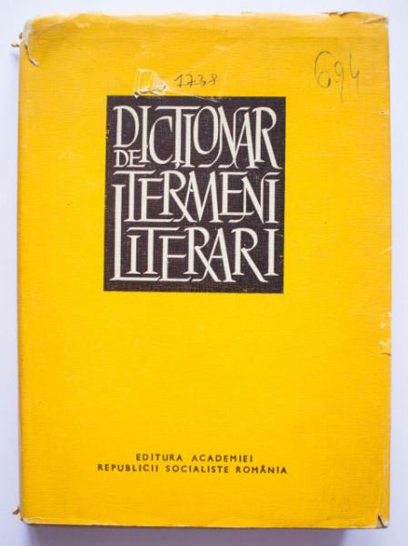 Al. Sandulescu (coord.) - Dictionari de termeni literari (editie hardcover)