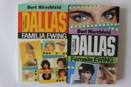 Burt Hirschfeld - Seria Dallas - Familia Ewing. Femeile Ewing (2 vol.)