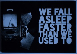 Poze Colectiv autori - We fall asleep faster than we used to (antologie in limba engleza a scriitorilor sibieni de la Zona noua)