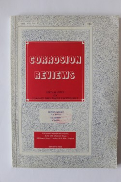 Corrosion Reviews (editie in limba engleza)