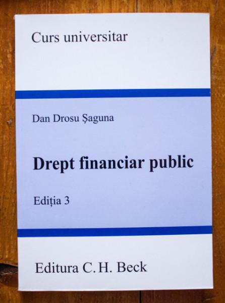 Dan Drosu Saguna - Drept financiar public