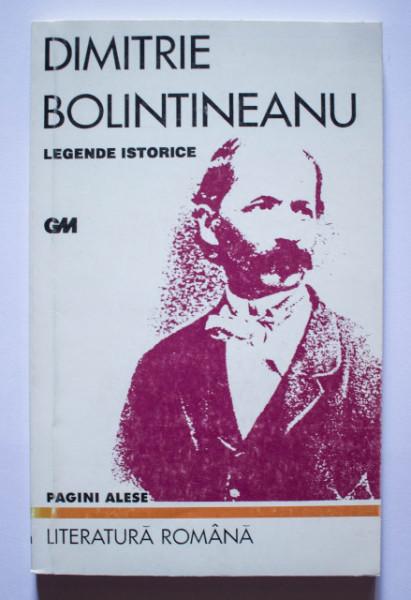 Dimitrie Bolintineanu - Legende istorice