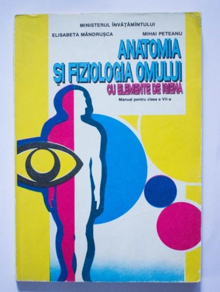 Elisabeta Mandrusca, Mihai Peteanu - Anatomia si fiziologia omului cu elemente de igiena (manual pentru clasa a VII-a)