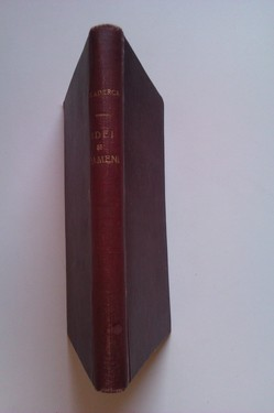 F. Aderca - Idei si oameni (editie hardcover, interbelica, frumos relegata)