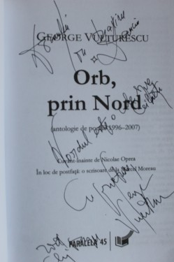 George Vulturescu - Orb prin nord (cu autograf)