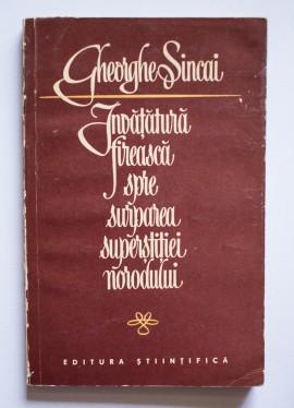Gheorghe Sincai - Invatatura fireasca spre surparea supersitiei norodului