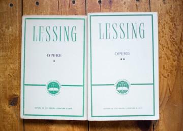 Gotthold Ephraim Lessing - Opere (2 vol.)