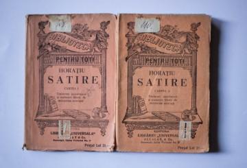 Horatiu - Satire (2 vol., editie interbelica)