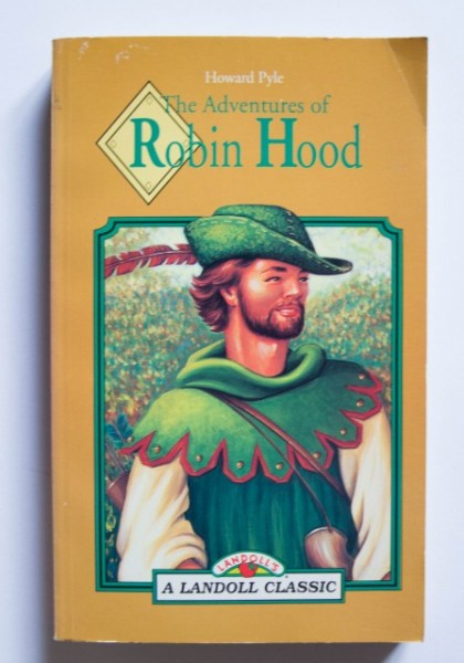 Howard Pyle - The Adventures of Robin Hood (editie in limba engleza)