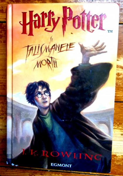 J. K. Rowling - Harry Potter si Talismanele Mortii (editie hardcover)