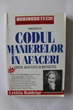 Letitia Baldrige - Codul manierelor in afaceri