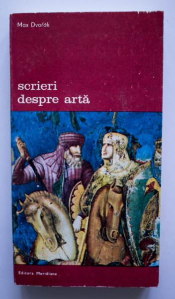 Max Dvorak - Scrieri despre arta