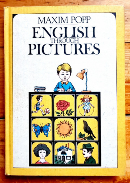 Maxim Pop - English through Pictures (editie hardcover)