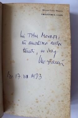 Mircea-Valer Stanciu - Vrajitorul casei (cu autograf)