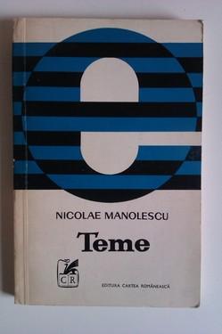 Nicolae Manolescu - Teme