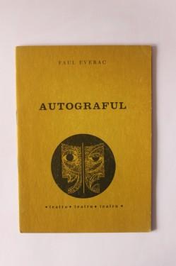 Paul Everac - Autograful