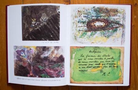 Rene Char - La nuit talismanique (editie hardcover, in caseta speciala)