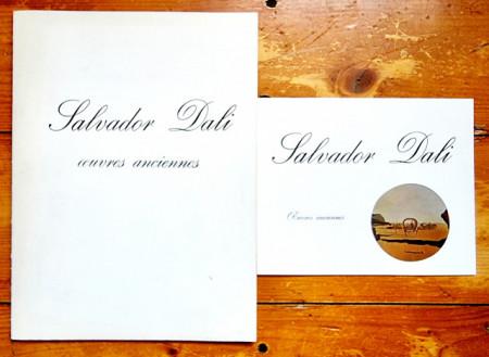 Salvador Dali. Oeuvres anciennes (catalogue d`exposition, Galerie Andre Francois Petit, 1970)