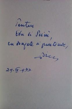 Stefan Aug. Doinas - Ce mi s-a intamplat cu doua cuvinte (cu autograf)