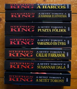 Stephen King - A Setet Torony (7 vol., serie completa, in limba maghiara)