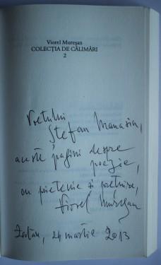 Viorel Muresan - Colectia de calimari (2 vol., cu autograf)