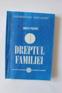 Adrian Pricopi - Dreptul familiei