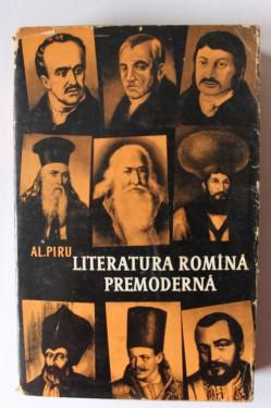 Al. Piru - Literatura romana premoderna