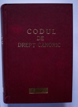 Codul de drept canonic. Textul oficial si traducerea in limba romana (editie hardcover, editie bilingva, latina-romana)