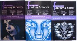 Ellen Datlow, Kelly Link, Gavin J. Grant - The year's best Fantasy & Horror (3 vol.)