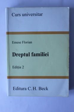 Emese Florian - Dreptul familiei