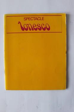 Eugene Ionesco - Spectacle (editie in limba franceza)